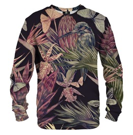 Jungle Bird Cotton Sweater