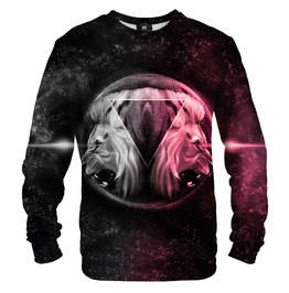 Space Lions Cotton Sweater