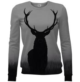 Wild Deer Cotton Sweater