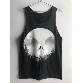 Moon Cluster Galaxy Universe Fashion Unisex Tank Top