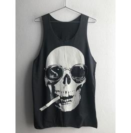 Skull Cool Dead Body Street Fashion Pop Rock Unisex Tank Top Vest M