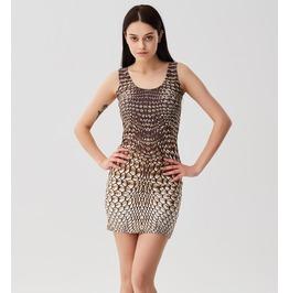 Golden Armor Simple Dress