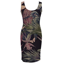 Jungle Bird Simple Dress