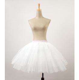 Pyon Pyon Women's Lolita Mist Skirt White Lq048