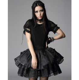 Pyon Pyon Lolita Style Pricess Plain Lace Tops Lt004
