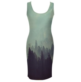 Old Forest Simple Dress