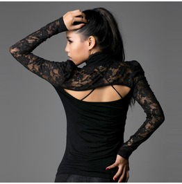 Punk Rave Women's Sexy Floral Lace Cutout Tops Pt004