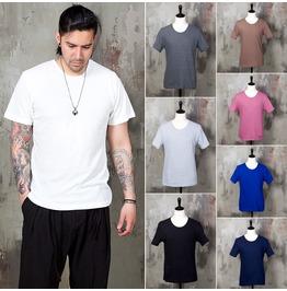 Basic Cotton T Shirts 754