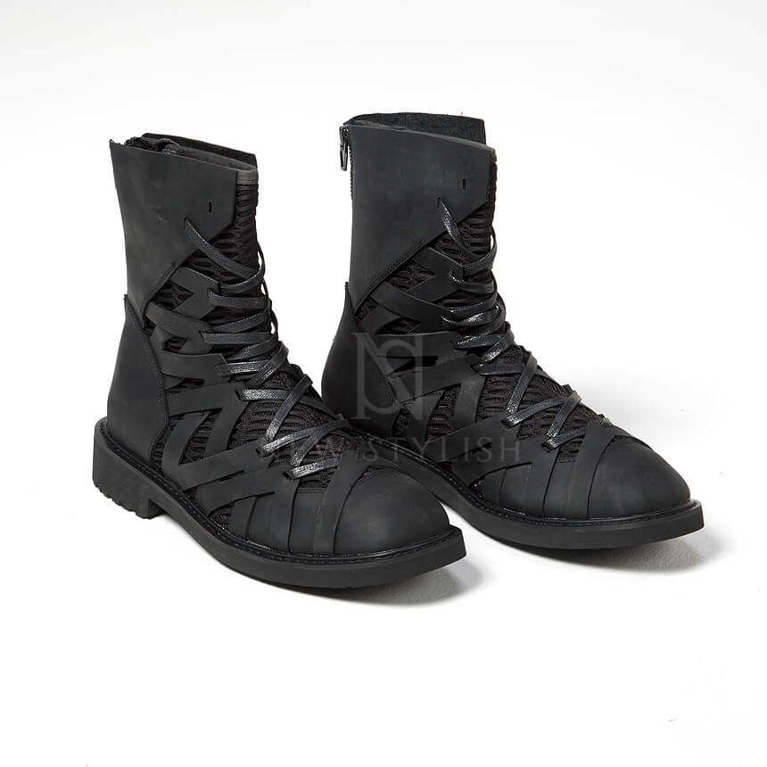 rebelsmarket_mesh_layered_zigzag_pattern_leather_high_top_boots_368_boots_11.jpg