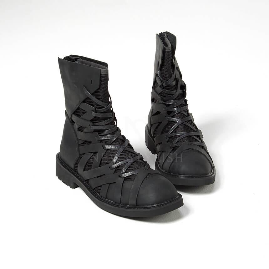 rebelsmarket_mesh_layered_zigzag_pattern_leather_high_top_boots_368_boots_10.jpg