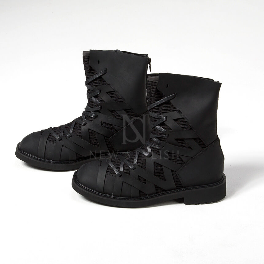 rebelsmarket_mesh_layered_zigzag_pattern_leather_high_top_boots_368_boots_6.jpg