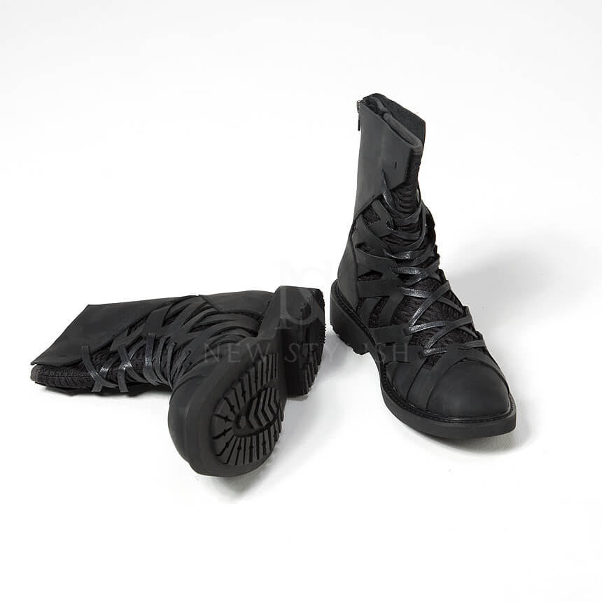 rebelsmarket_mesh_layered_zigzag_pattern_leather_high_top_boots_368_boots_5.jpg
