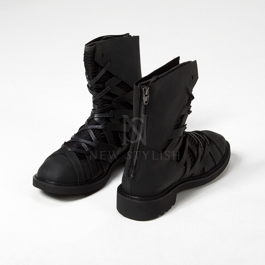 rebelsmarket_mesh_layered_zigzag_pattern_leather_high_top_boots_368_boots_4.jpg