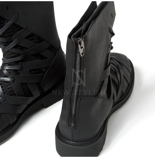 rebelsmarket_mesh_layered_zigzag_pattern_leather_high_top_boots_368_boots_2.jpg