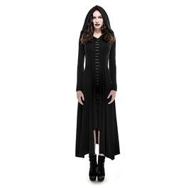Punk Rave Women's Sexy Bagira Hooded Long Dress Q290