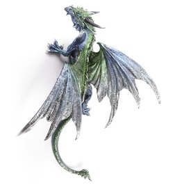 Wall Climbing Dragon Fantasy Ornament