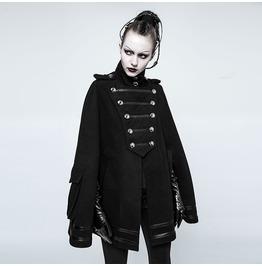 Punk Rave Women's Military Uniform Pocket Cloak Y765