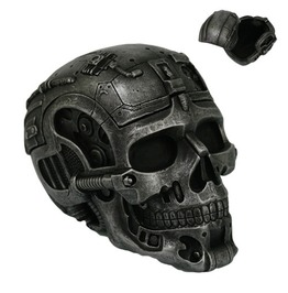 V11139 Cyborg Skull Box