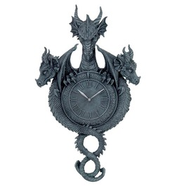 V11641 Dragon Clock