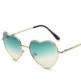 Heart Shaped Polarized Mirrored Lens,Steampunk Unisex Square Uv Sunglasses