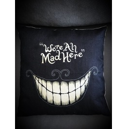 Cheshire Cat Pillow Cover