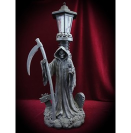 Grim Reaper Solar Outdoor Light