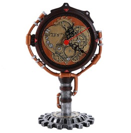 V11403 Steampunk Clock