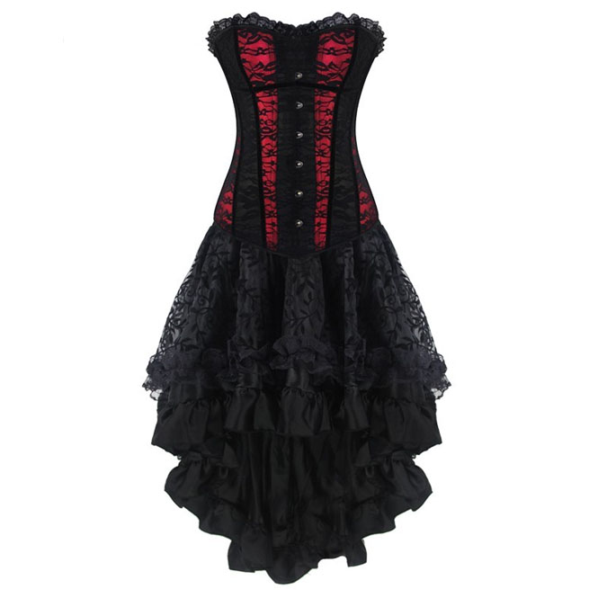 rebelsmarket_steampunk_ruffled_patchwork_busk_front_overbust_lace_corset_dress_bustiers_and_corsets_5.jpg