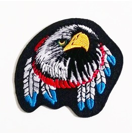 Eagle Iron On Patch.