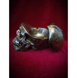Skull Ashtray With Lid