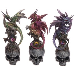 Skull Dragon Figure 3 Colors!