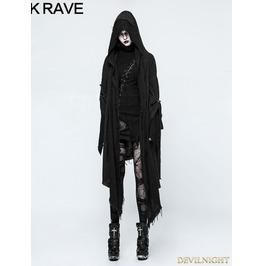 Black Gothic Punk Loose Death Cloak For Women Opy 228