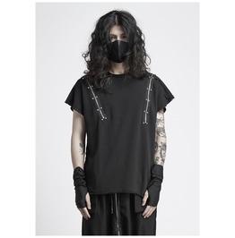Gothic Punk Men's Sleeveless T Shirts