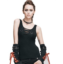 Women's Bondage Tank Top With O Rings