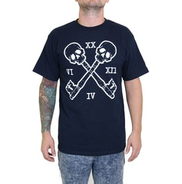 Men's Skull And Cross Key Tee