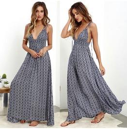 Summer Boho Long Maxi Dress Evening Dress