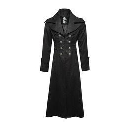 Military Style Long Winter Coat