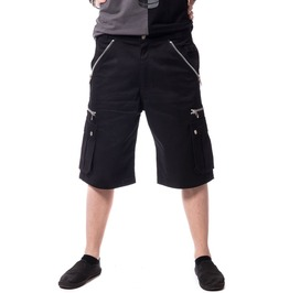 Mens Gothic Casual Shorts Goth Summer Short Pant