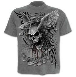 Ascension T Shirt Charcoal