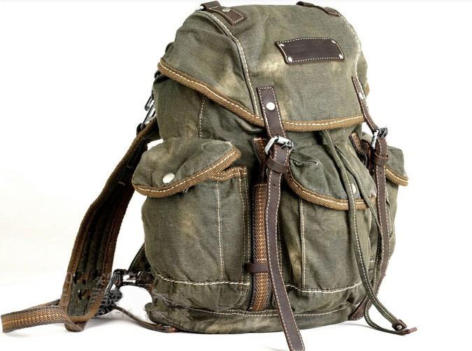 Vintage Canvas Backpacks 30