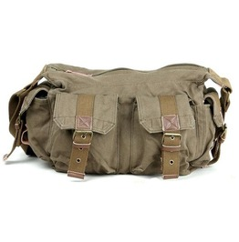 Mens Vintage Canvas Sailor Style Casual Shoulder Bag
