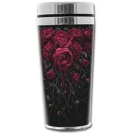 Spiral direct blood rose thermo travel mug flask 0 45 l dishes and mugs