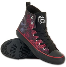 Sneakers Ladies High Top Laceup