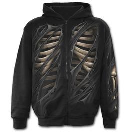 Full Zip Hoody Black