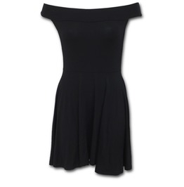 Bardot Neck Skater Dress