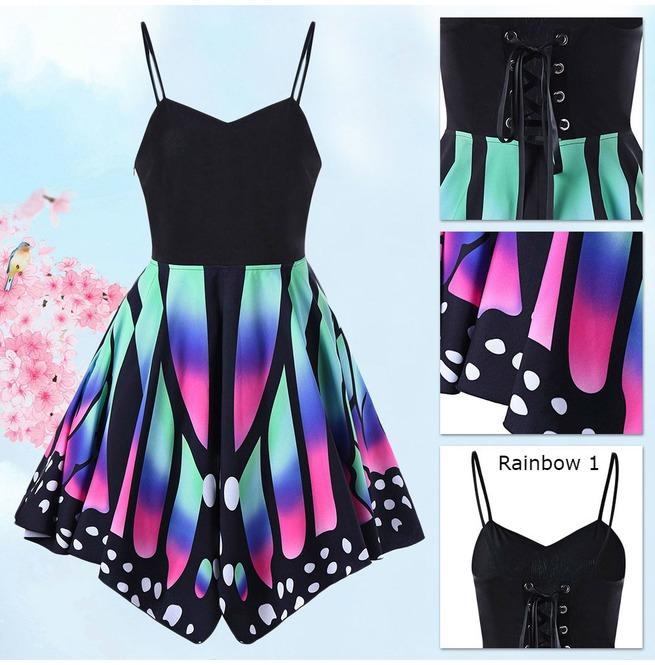 e40a1f951 Butterfly Dress   Vestido Mariposa Wh387