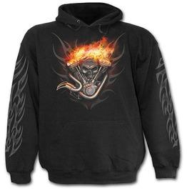 Wheels Of Fire Hoody Black