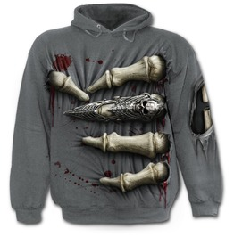 Death Grip Hoody Charcoal