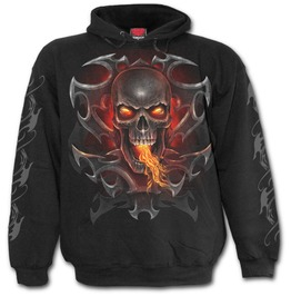Fire Dragon Hoody Black