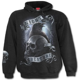 Night Creature Hoody Black